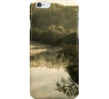 Misty River Morning 2 iPhone Case/Skin