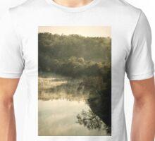 Misty River Morning 2 Unisex T-Shirt