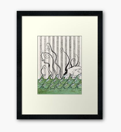 The Devil Fish's Daughter Framed Print