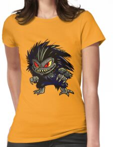 Hungry Little Critter Womens Fitted T-Shirt