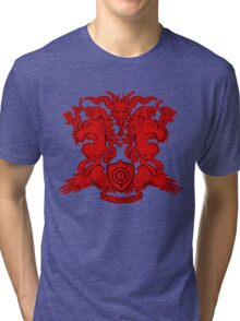 Monster Coat of Arms Tri-blend T-Shirt