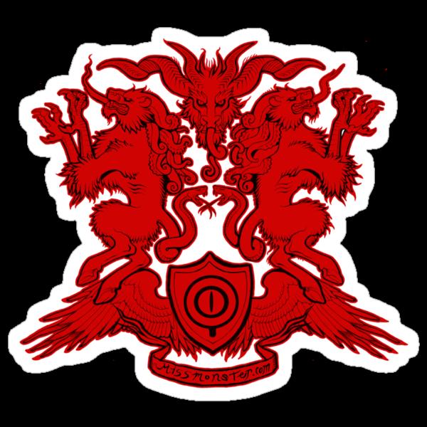 Monster Coat of Arms by missmonster