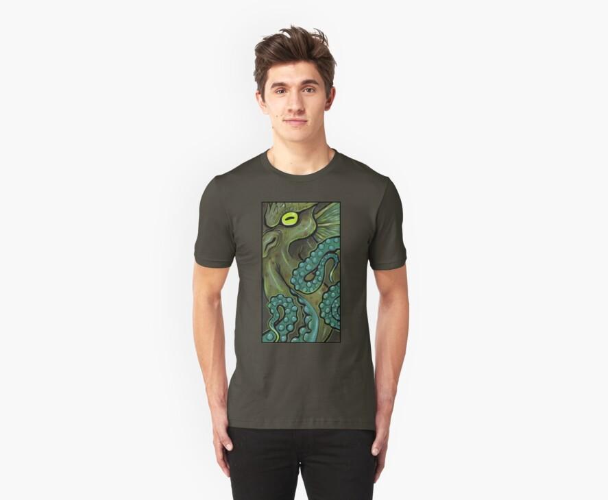 Green Cthulhu by missmonster