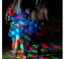 Party time.....let's dance! Photographic Print