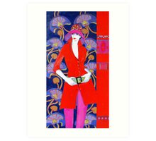 Style Lady 5 Art Print