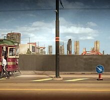 End of the line by Adrian Donoghue
