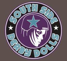 South Side Derby Dolls Logo Baby Tee