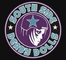 South Side Derby Dolls Logo Kids Tee