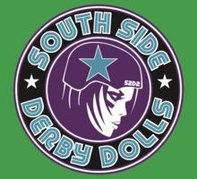 South Side Derby Dolls Logo One Piece - Short Sleeve