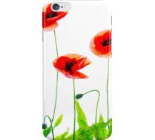 Flanders Poppies iPhone Case/Skin