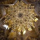 Alhambra Palace Ceiling by Sherri Fink