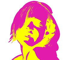 Andy Warhol Woman by Christopher Uitendaal