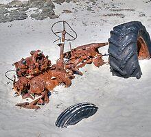 Stuck! Snelling Beach, Kangaroo Island, South Australia by Adrian Paul
