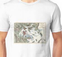 Vintage Map of Boston Harbor (1807) Unisex T-Shirt