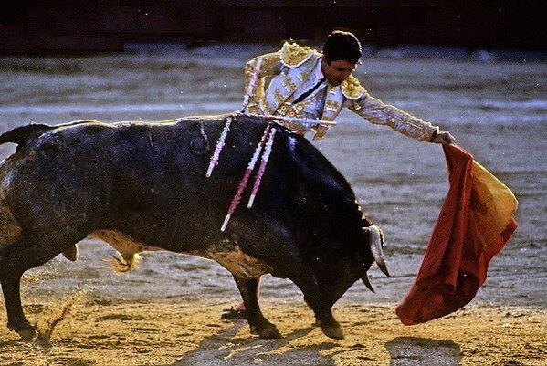 Bullfighting−6、SPAIN by yoshiaki nagashima