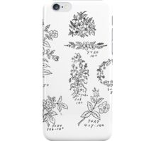 New Sample Book of Our Artistic Perforated Parchment Stamping Patterns Kate Greenaway, John Frederick Ingalls 1886 0147 iPhone Case/Skin