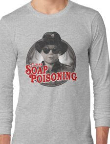 A Christmas Story - Ralphie and the Soap - Soap Poisoning - Christmas Movie Pop Culture - Holiday Movie Parody Long Sleeve T-Shirt