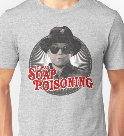 A Christmas Story - Ralphie and the Soap - Soap Poisoning - Christmas Movie Pop Culture - Holiday Movie Parody Unisex T-Shirt