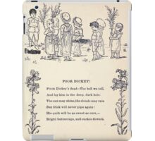 Miniature Under the Window Pictures & Rhymes for Children Kate Greenaway 1880 0009 Poor Dickey iPad Case/Skin