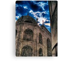 Taj Mahal From Another POV Canvas Print