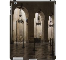 Syracuse Cathedral - an Ancient Greek Temple, 2500 Years Old iPad Case/Skin