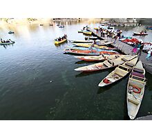 Boats. Photographic Print