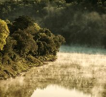 Misty River Morning 2 by photograham