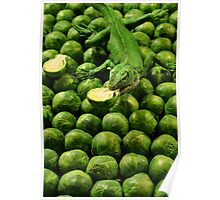Eat your brussel sprouts Poster