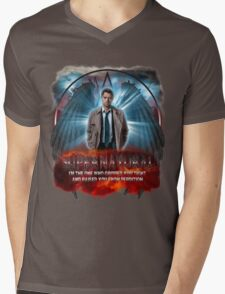 Supernatural I'm the one who gripped you tight and raised you from Perdition 3 Mens V-Neck T-Shirt