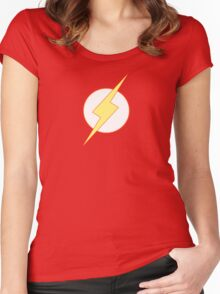Simplistic Flash 2 Women's Fitted Scoop T-Shirt