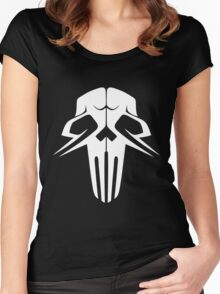 Rachnera Skull Women's Fitted Scoop T-Shirt
