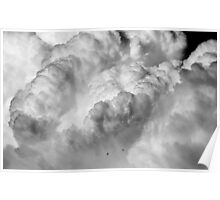 Avalanche ~ of Clouds Poster