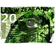 New Zealand twenty dollar  Poster