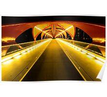 Light Tunnel Poster