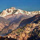 Kedar Peak - Ukhimath in the Himalayas by soumen