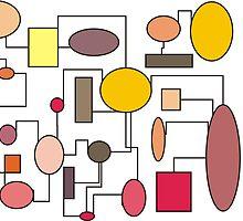 "Atomic Era Art Style ""Bubbles"" by gailg1957"