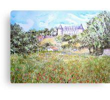 Chateau Rochechouart Canvas Print