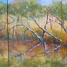 Upper Swan River Triptich treble [the whole] by David Hinchliffe