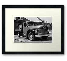 Brewery Truck Framed Print