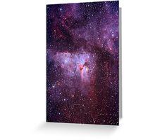 Keyhole Nebula Greeting Card