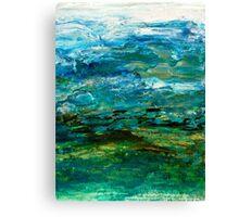 Grace (Card) Canvas Print