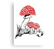Amanita Muscaria Canvas Print