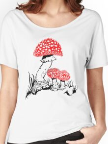Amanita Muscaria Women's Relaxed Fit T-Shirt