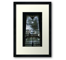 "Convergence ""Infinite Earths"" Framed Print"