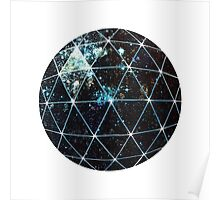 Galaxy Geodesic  Poster