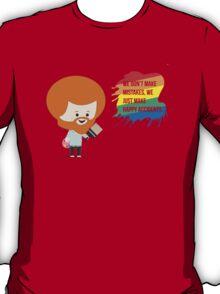 Chibi Bob Ross w/Quote T-Shirt