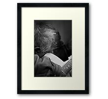 Wanting to be heard Framed Print