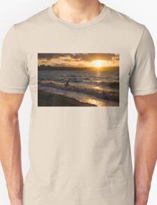 Golden Wings, Golden Water Unisex T-Shirt