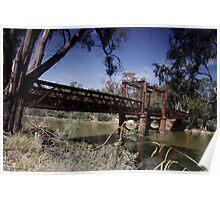 Tocumwal Rail Bridge Poster
