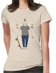Vishnu Punx. Womens Fitted T-Shirt